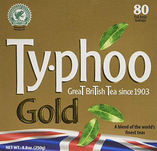A photograph of Typhoo Gold
