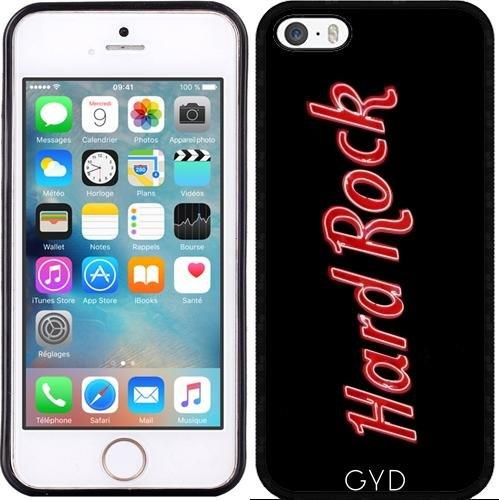 Leder Flip Case Tasche Hülle für Apple iPhone 6/6S - Hardrock by Brian Raggatt Silicone