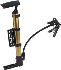 Anbau Portable Bicycle MTB Tire Pump Stick Inflator Yellow