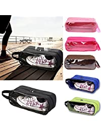 EasyBuy India Blueee : Shoes Storage Bags 2016 Shoes Travel Waterproof Pouch Totes Zipper Organizer Bag For Shoe...