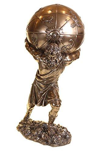 Statuetta in bronzo, 31cm, Atlas h1684e5