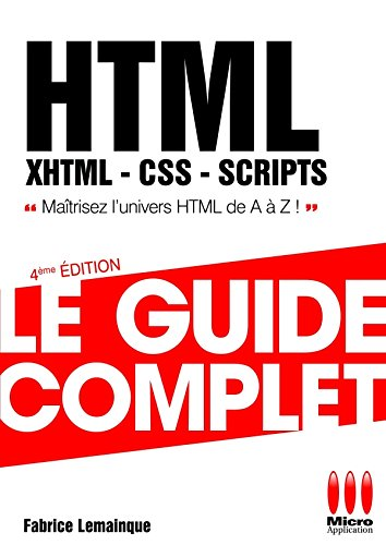 GUIDE COMPLET HTML