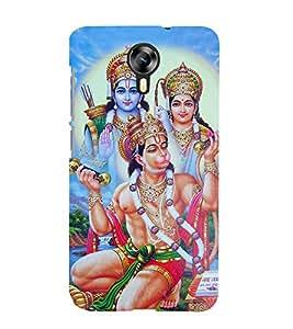 Bhagwan Hanuman 3D Hard Polycarbonate Designer Back Case Cover for Micromax Canvas Xpress 2 E313