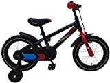 Bicicleta infantil Blaze de 14 pulgadas con ruedas extraíbles negro - 95% montado