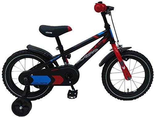 Bicicleta infantil Blaze de 14 pulgadas con ruedas extraíbles negro - 95{d56436bbd67061748899a5a0a788d8ae143a3160b83af774a2bdd24a8ae01f44} montado