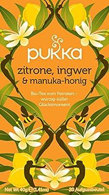 PUK3-V0ParentV3 von Pukka - Bio-Tee Zitrone-Ingwer-Honig - 20Bt/40g auf Gewürze Shop