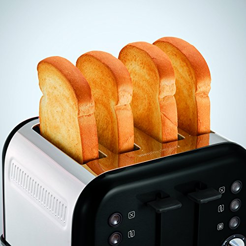 Morphy Richards Accents 4 Slice Toaster – Black