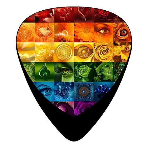 Lgbt Pride Flag Guitar Picks Celluloid Print Boys Complete Assorted 12 Pack (Picks R5)