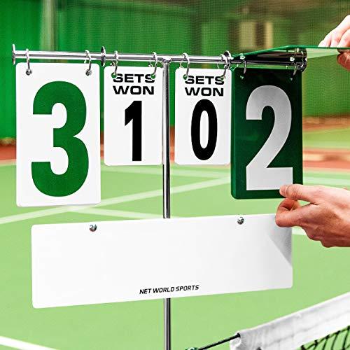 Net World Sports Tennis Anzeigetafel – für Schulen, Tennisclubs oder für zu Hause