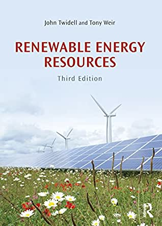 renewable energy resources twidell solution manual