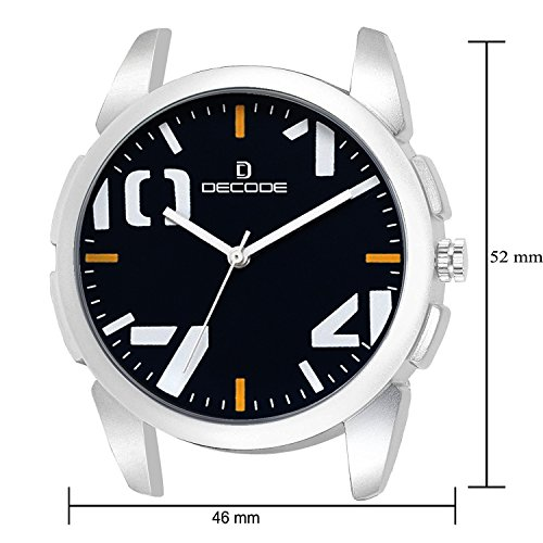 Decode Rebel Collection Analogue Black Dial Men's/Boy's Watch- CH-574 Black Rebel Collection