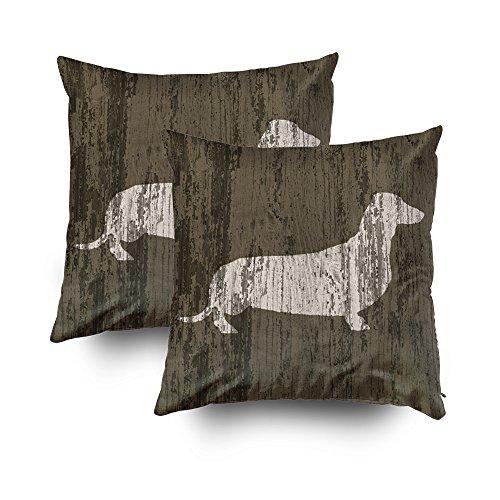 Capsceoll - 2 Fundas de Almohada Decorativas para sofá o sofá con Cremallera, 40,64 x 40,64 cm, Decoración del hogar