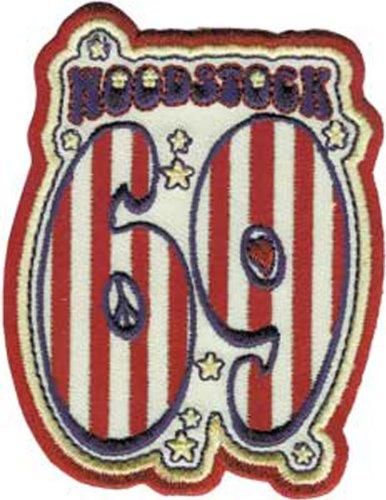 Application Woodstock 69 Patch (Woodstock Hund Spielzeug)