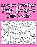 Livre De Coloriage Pour Enfants Dès 6 Ans Pour Les Filles