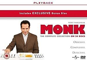 Monk - Season 1-8 [DVD] [2002]