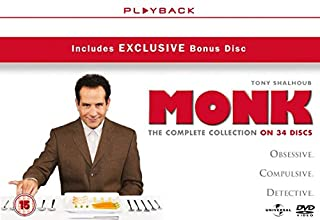 Monk - Season 1-8 [DVD] [2002] (B004VMHUR4) | Amazon price tracker / tracking, Amazon price history charts, Amazon price watches, Amazon price drop alerts
