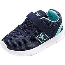 YanHoo Zapatos para niños Zapatillas de Deporte Casuales Baby Zapatillas Deportivas para Correr Zapatillas Deportivas Velcro