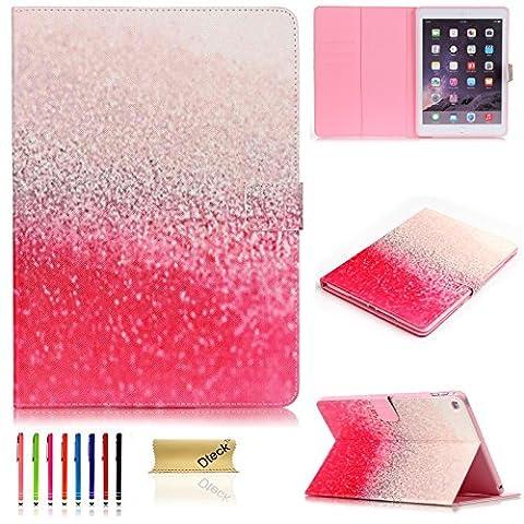 iPad Mini 4 Case, Dteck(TM) iPad Mini 4 Slim Case Painting PU Leather Folio Flip Case Full Protective Kids Proof Cover for Apple iPad Mini 4th Gen 7.9 Inch A1538 A1550 Model, Gradrent Ramp