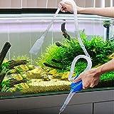 Homeofying 1.7m acquario sifone ghiaia pulitore pesce serbatoio vuoto pompa acqua Change Tool