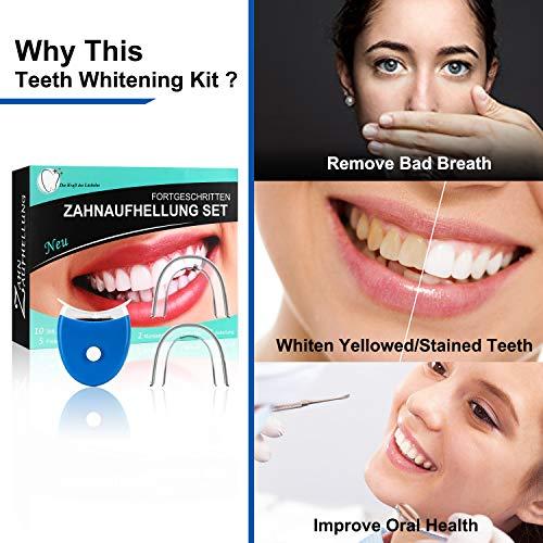 Zoom IMG-3 teeth whitening kit sbiancamento denti