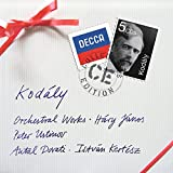 Kodaly : Oeuvres pour orchestres (Coffret 4 CD)