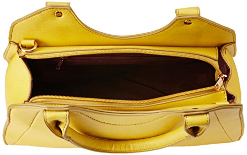 Caprese Lian Women's Satchel (Yellow)