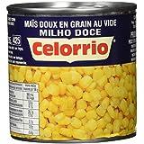 Celorrio - Maíz dulce en granos al vacío - 285 g - [Pack de 12]