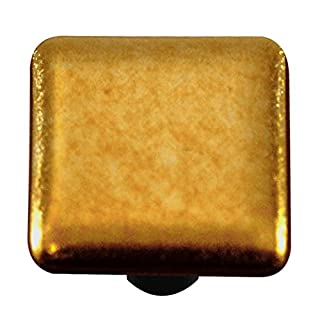 Aquila Art Glass HK4003-KB Metal Collection Knob, Gold