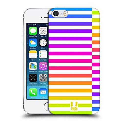 Head Case Designs Neon Dynamische Streifen Ruckseite Hülle für Apple iPhone 5 / 5s / SE (Se-streifen)