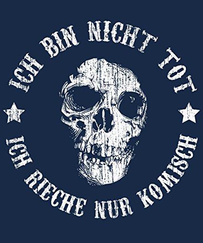 -- riech nur komisch -- Girls Kapuzenpullover Navy