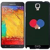 Coque pour Samsung Galaxy Note 3 Neo/Lite (N7505) - Table Batte De Tennis Et De Balle by ilovecotton