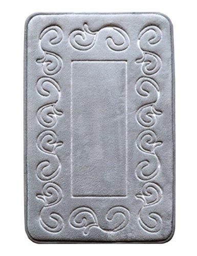 Rabatt Geflochtene Teppiche (Blumen-rutschfeste Hauptküche-Schlafzimmer-Bad-Art- und Weiseteppich-Fußmatte)