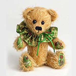 Canterbury Bears ltd 157 Florry Mohair - Oso de Peluche, Color Dorado
