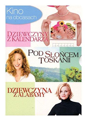 Preisvergleich Produktbild Dziewczyny z kalendarza (Calendar Girls) / Pod slocem Toskanii (Under the Tuscan Sun) / Dziewczyna z Alabamy (Sweet Home Alabama) [3 DVD Box] [PL Import]
