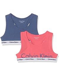 Calvin Klein Bralette, Sujetador Deportivo para Niñas