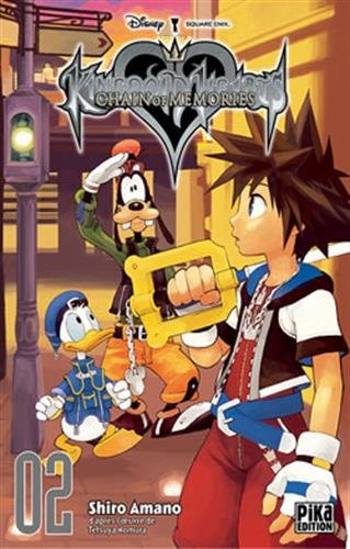 Kingdom Hearts Chain of Memories Nouvelle edition Tome 2