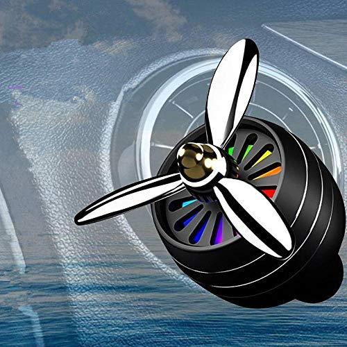 SGXDMxx Auto all'Ingrosso di Alta qualità aromaterapia Aeronautica n. 3 in Metallo con Luce Presa Decorazione Rotazione Creativa fragranza duratura @ 1
