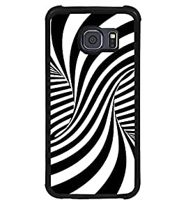 TOUCHNER (TN) Flipped Back Case Cover for Samsung Galaxy S6::Samsung Galaxy S6 G920