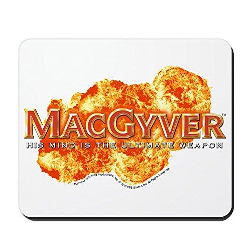 (CafePress–MACGYVER Logo–rutschfeste Gummi Mauspad, Gaming Maus Pad)