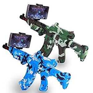 Prtukytt Drahtloser Bluetooth Spiel Gun Augmented Reality-Controller, 4D Somatosensory Imitation Echt Shooting Szene Gesunde und umweltfreundliches Material konform mit Ergonomie