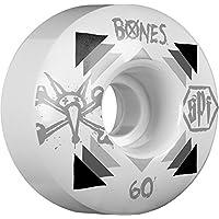 Bones SPF P3ratbone Set di 4ruote di skateboard da adulto, Multicolore, (60 Mm Skateboard Ruote)