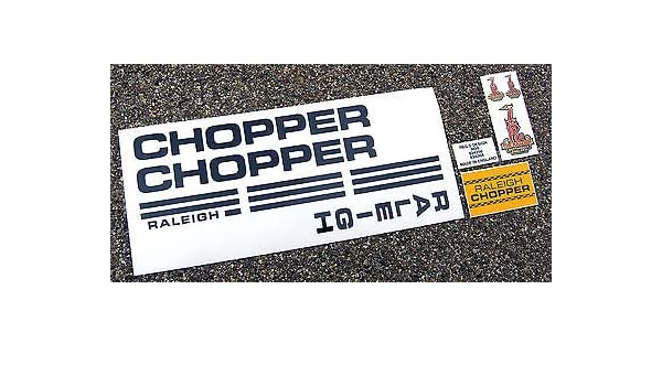 RALEIGH Vintage style CHOPPER MK1 Decals Stickers: Amazon co
