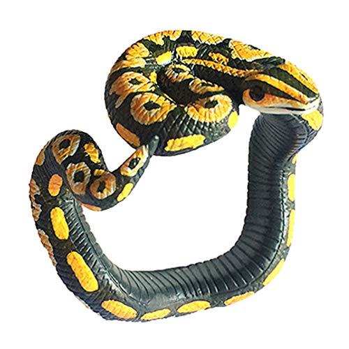 NUOBESTY Schlange Requisiten Ornament Armband Schmuck beängstigend Armband Halloween beängstigend Streich knifflige Requisiten