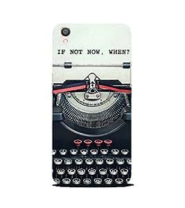 PrintVisa Designer Back Case Cover for Oppo F1 Plus :: Oppo R9 (Vintage Type Writer)