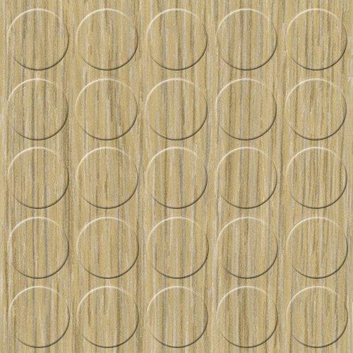 Birke Ahorn-tisch (GleitGut Selbstklebende Abdeckkappen für Möbel - Durchmesser 14 mm - Schrauben-Abdeckungen (Eiche grau))
