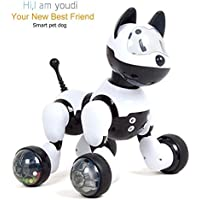 Electronic Pet Dog, Binrrio Intelligent Voice Control Robot Dog Toy With Gesture Sensing Talk Sing Dance Wake-up Sleep Laugh Children Gift - Compare prices on radiocontrollers.eu