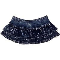 RXL-shorts Disfraz de DS Traje de baile de plomo Falda corta Falda de minifalda de cantante de club nocturno (Tamaño : S)