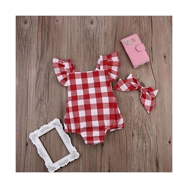 FAMILIZO Mameluco, Bebé ReciéN Nacido AlgodóN Bowknot Ropa Conjunto Traje Mono Traje Set Romper 3