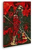 Illustration historischer Soldat Format: 60x40 Effekt: Zeichnung als Leinwandbild, Motiv fertig gerahmt auf Echtholzrahmen, Hochwertiger Digitaldruck mit Rahmen, Kein Poster oder Plakat