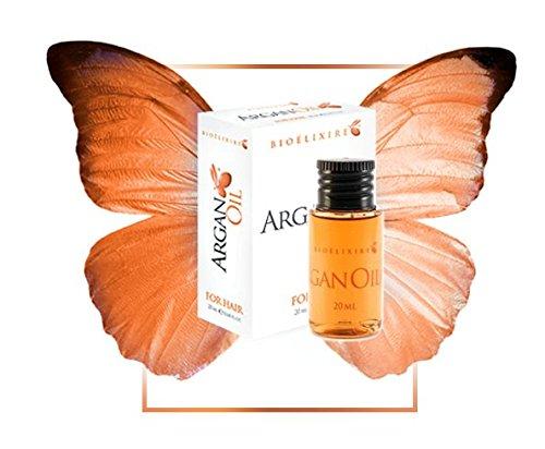 Bioelixire Argan Oil Serum Do WłosĂłw 20ml [1xKOSMETYKI] (Fügen Feuchtigkeit Auf Trockenem Haar)